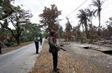 Series of bomb blasts hit Myanmar's Rakhine state