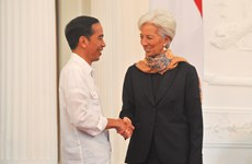 IMF chief urges Indonesia to boost growth to create more jobs