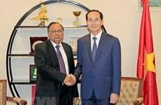 President Tran Dai Quang's activities in Bangladesh