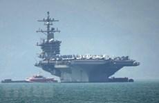 US naval vessels visit central Da Nang city