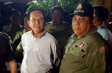 Former Cambodian opposition leader's pre-trial detention extended