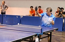 Japan – Vietnam table tennis friendly exchange in Ho Chi Minh City