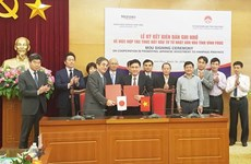 Japanese bank signs cooperation agreement with Vinh Phuc province