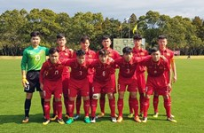 Vietnam's U16 team defeats Laos at regional tournament