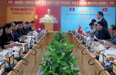 Lao NA committee for ethnic affairs delegation visits Ha Tinh