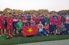 Vietnam enters final of Japan-ASEAN youth football event