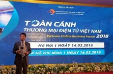Vietnam Online Business Forum opens