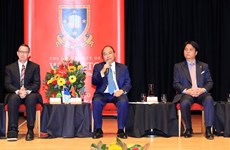 PM visits Waikato University, wrapping up visit to New Zealand