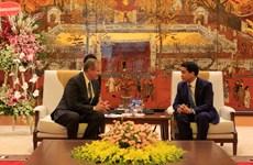 Hanoi mayor receives delegation of LDS Church