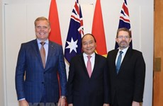 PM Nguyen Xuan Phuc meets Senate, House leaders of Australia