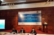 Training course on corruption, regional cooperation launched