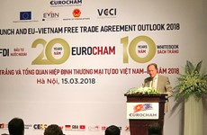 EuroCham launches 10th edition of Whitebook in Hanoi