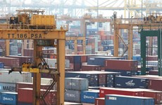 Singapore's non-oil domestic exports fall 5.9 pct in February