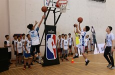 US basketball development programme returns to Vietnam