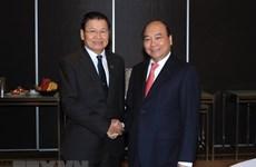 Vietnamese, Lao PMs meet on ASEAN-Australia Special Summit sidelines
