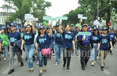 Hanoi goes vibrant with activities response to Earth Hour