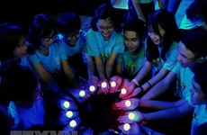 EVN Hanoi supports Earth Hour 2018