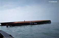 14 fishermen missing after vessel capsizes off Malaysia's coast