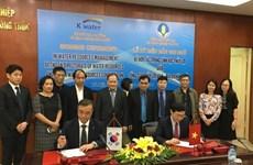 Vietnam, RoK firm sign irrigation cooperation deal