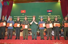 Winners of writing contest on Vietnam-Cambodia ties awarded