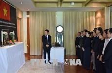 Int'l friends bid last farewells to former PM Phan Van Khai