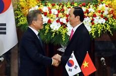 Korea Times highlights RoK President's visit to Vietnam