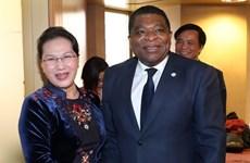 NA Chairwoman works with IPU Secretary General in Geneva