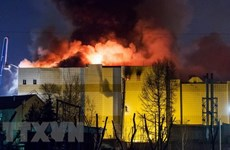 President condoles with Russian counterpart on shopping mall fire