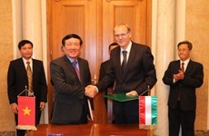 Vietnam, Hungary supreme courts sign MoU