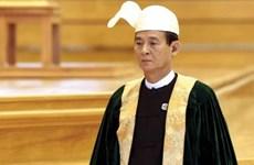 Myanmar former speaker of lower house elected as new president