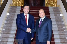 PM receives Indonesian marine minister