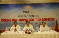 WorldTrans launches Can Tho – Bangkok direct flights for 2018