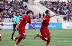 Vietnam draw 1-1 with Jordan in Asian Cup qualifier