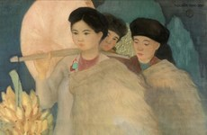 Vietnamese painter's work auctioned at record price in Paris