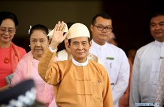 Myanmar's new president pledges three objectives
