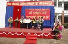 Gia Lai: Pleiku city fulfils new-style rural area building target