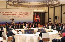 10th CLV Development Triangle Area Summit held in Hanoi