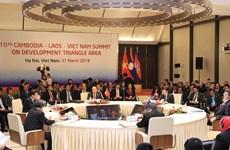 10th CLV Development Triangle Area Summit held in Hanoi