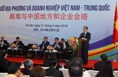 Hanoi meeting links Vietnam-China localities, businesses