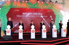 Work starts on first int'l education city in Vietnam