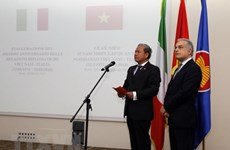 Embassy celebrates 45 years of Vietnam-Italy relations