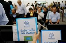 Thailand: Major political parties begin membership reconfirmation