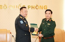 Vietnam, Mongolia boost defence ties
