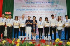 Vu A Dinh Scholarship Fund strives to give bigger aid to needy students