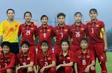 AFC lauds Vietnam's female football squad