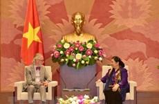 NA Vice Chairwoman receives former IPU Secretary General