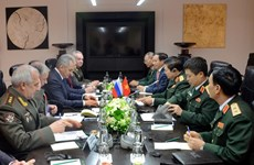 Vietnam, Russia sign military cooperation roadmap for 2018-2020