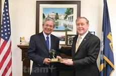 Vietnamese Ambassador visits US Naval Postgraduate School