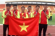 Vietnam ranks 2nd at regional junior athletics tournament
