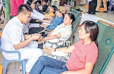 Thai Binh province encourages people to join blood donation